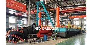 Cutter Suction Dredger 20 inci untuk pengorekan pasir sungai