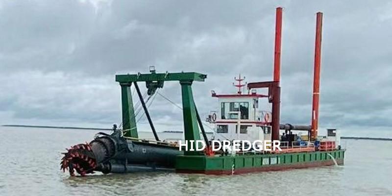 Draga de succión con cortador de 20 pulgadas para proyecto de dragado costero