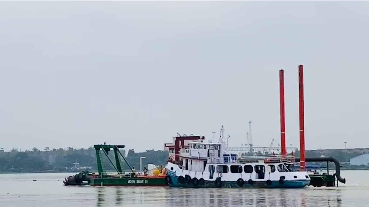 5500 m3/h Cutter Suction Dredger for Lake Desilting and Sand Mining Factory