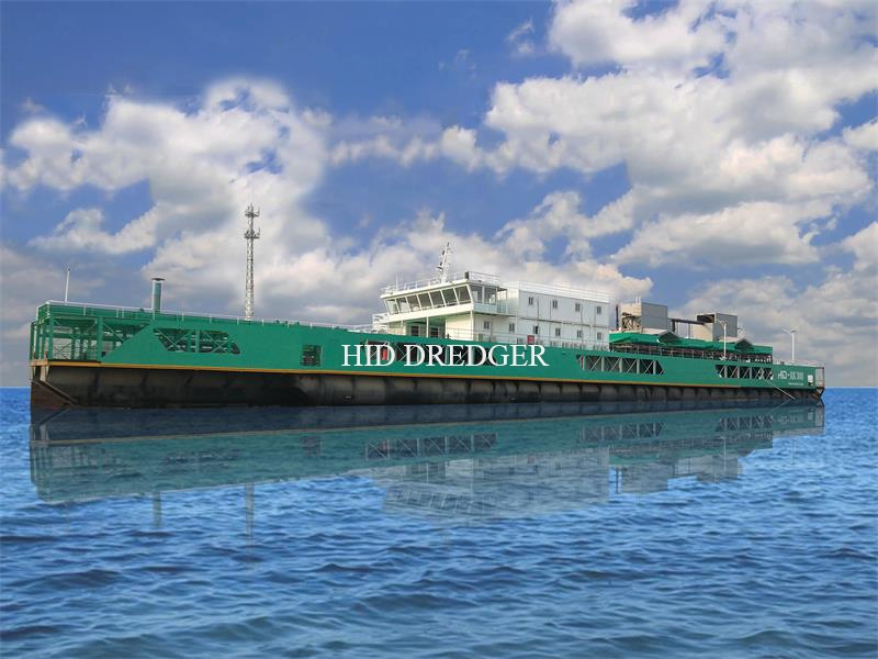 China′s First Tin Ore Mining Dredger with 95m Length for Sea Mining Dredging