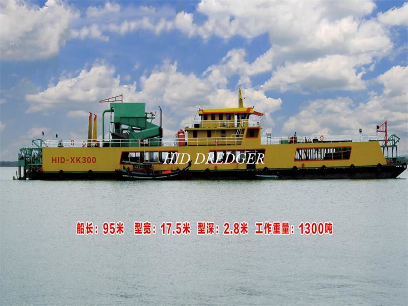 Minerals Mining Dredger Vessel for Sea Mining Using Delivery Indonesia