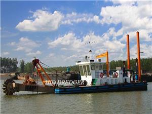 Mesin Pengorekan Roda Bucket Bersaiz Kecil 10 Inch untuk Pembersihan Tanah Sungai Grabel