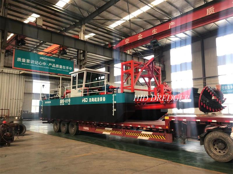 electric cutter suction dredger