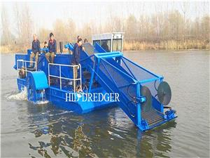 Water Cleanup And Garbage Salvage Boat