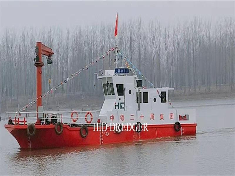 Kapal Bekerja diesel berkapasiti 30T untuk membantu kapal pengorek penghisap pemotong