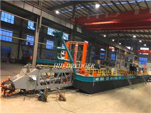 Peningkatan Teknologi: 30m Dredge Depth Cutter Suction Dredger