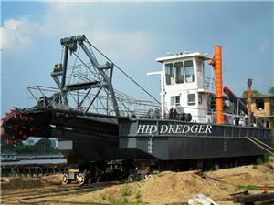 Cutter Suction Dredger 16 inci untuk kerja pengorekan Pelabuhan di Davao