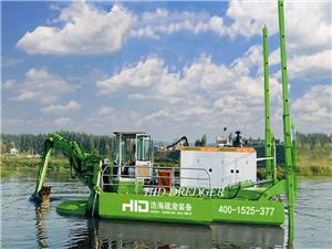 Amphibious Cutter Suction Dredger / Weed Raking Dredger Teknologi Canggih untuk Dijual