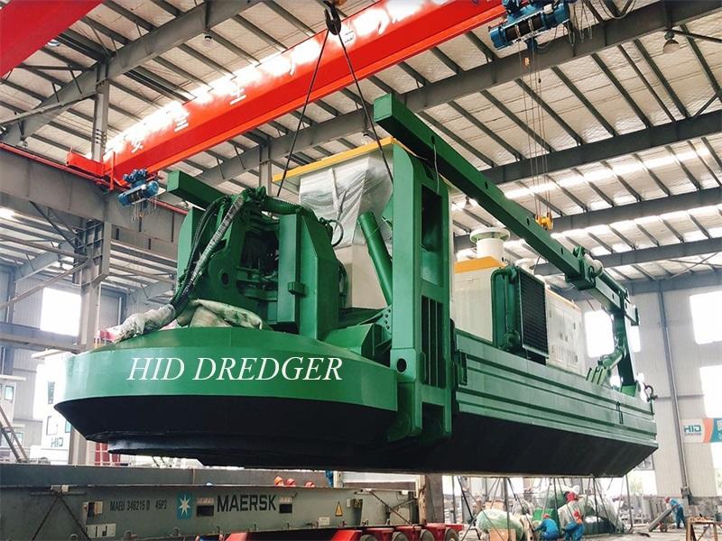 600m3 / h . की जल प्रवाह क्षमता के साथ HID उभयचर ड्रेजर