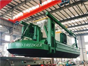 HID Amphibious Dredger With Water Flow Capacity of 600m3/h