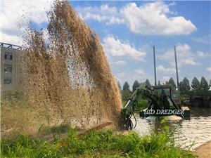 Pengeruk Serbaguna Amphibia China di Tanah / Air untuk Perlombongan Pasir