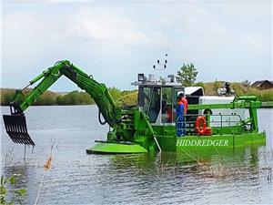 HID Amphibious Dredger dengan Rexroth Cutter Suction Mud Pump