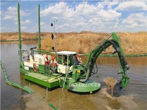 Amfibi Serbaguna Dredger