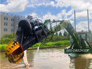 Kapal kapal amfibi 600m3 / j untuk pengorekan sungai