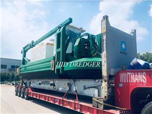 600m3/h amphibious dredger