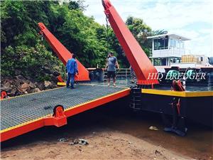 HID Memuatkan Deck Barge 100t- 400t untuk Pengangkutan Logistik Kargo