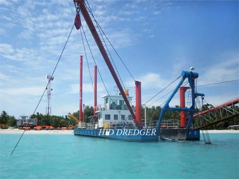 Penambakan Penyedut Dredger / Resort Tanah 18 inci yang boleh dipercayai