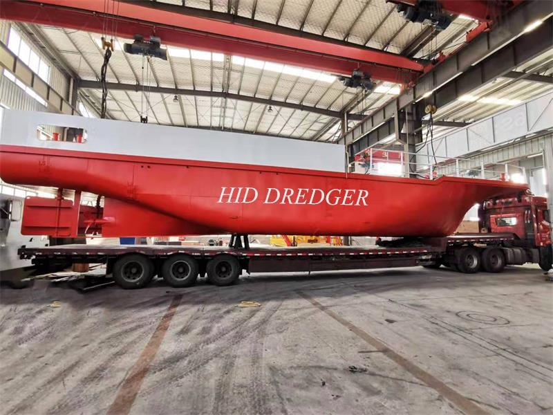 Menyokong Tug Boat untuk China Keretapi Biro 20 24 inci Dredger Penghantaran