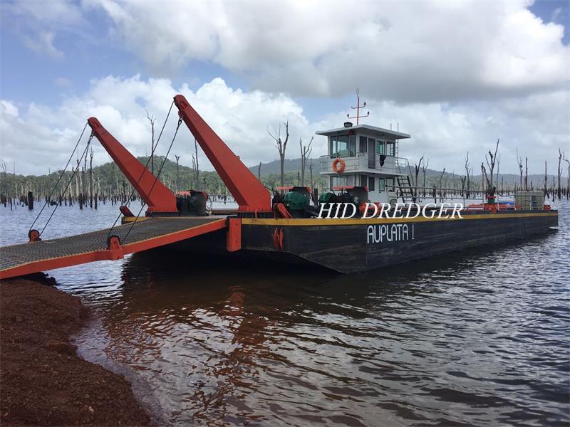 Logistik Tongkang Dikilangkan untuk Pelanggan Guyana Perancis