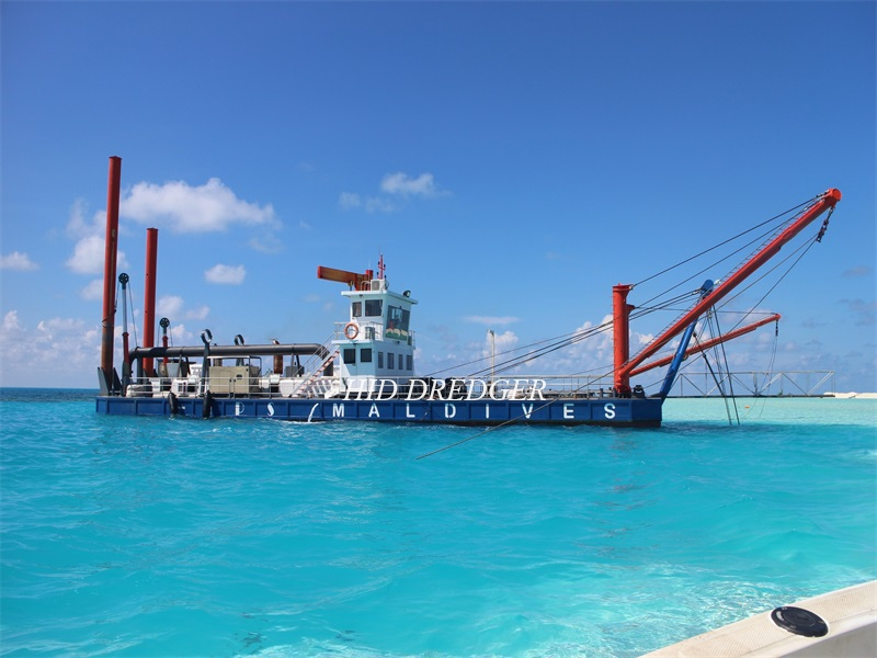 20 Inch Cutter Suction Dredger Menghantar ke Maldives