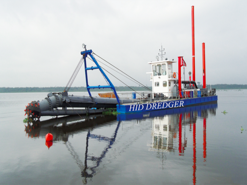 HID Cutter Dredger Delivers to Sudan