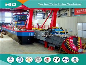 HID Brand High Performance Cutter Suction Dredger Sand Dredger with Dredging Deepth 15m