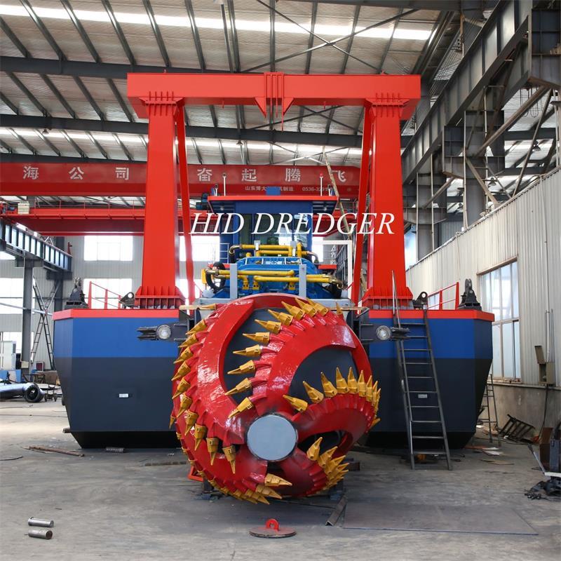 dredger machine