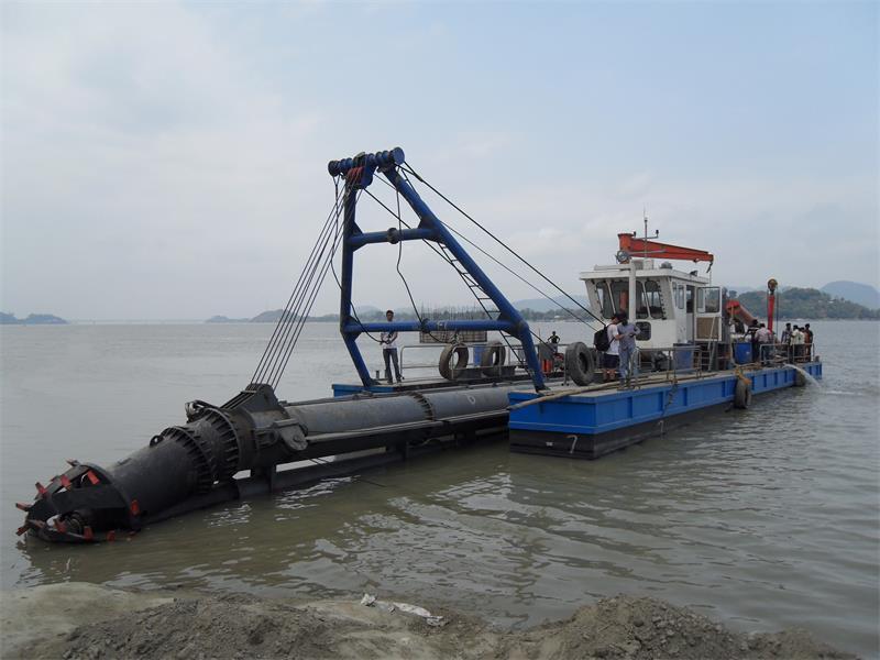 Hochwertiger HID 20-Zoll-Cutter-Saugbagger für das Ausbaggern von Flusssandbergbau in Bangladesch