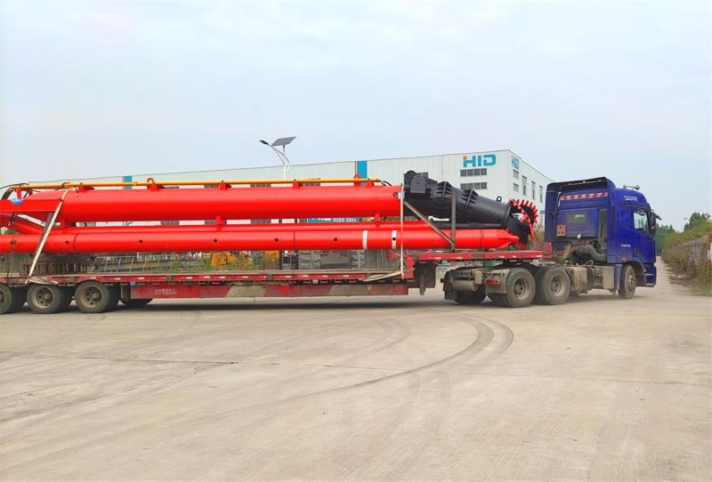 HID A Brand New Baggermaschine CSD 4016 Modell River Dredger Delivery