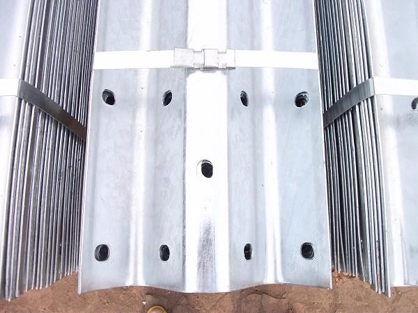 Armco Crash Barrier Installation