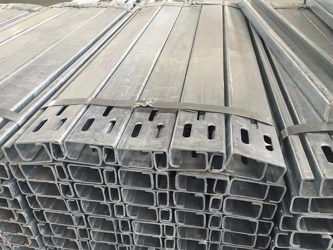 Steel C Post Barrier Post
