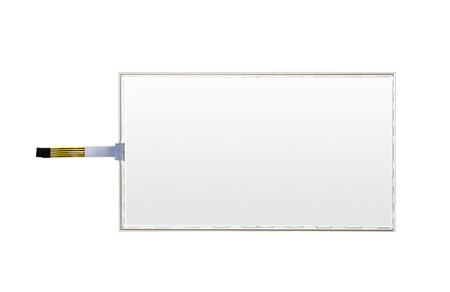 RS232 interface 15.6 Inch 5 Wire Resistive Touch Panel