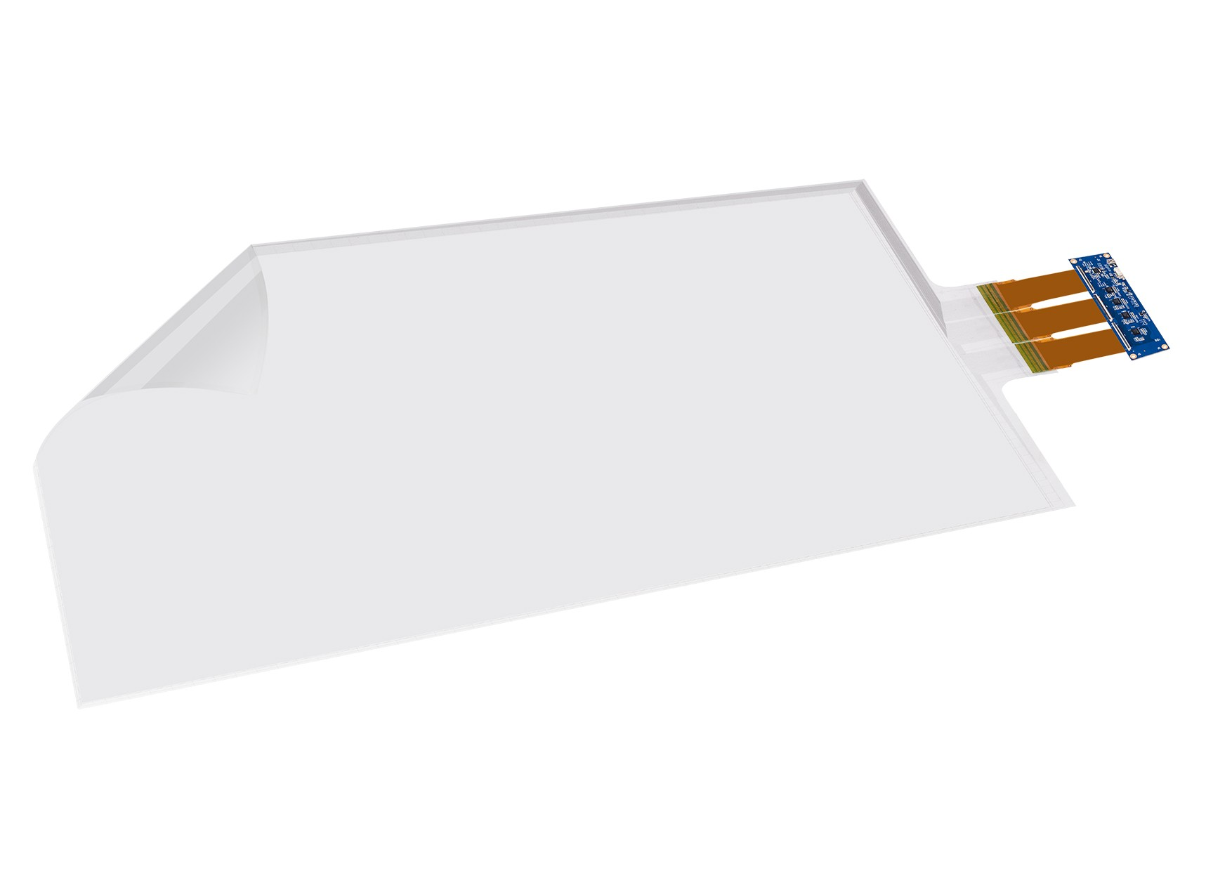Large Touch Foil Film sized from 70'' to 84'' with 40-point