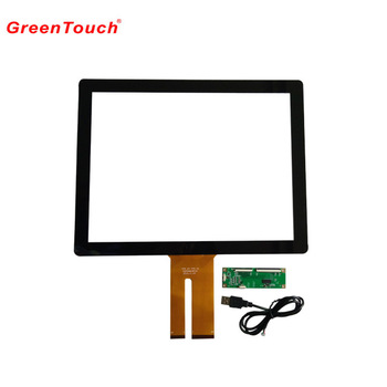 USB interface 15''/17''/ 19'' projected Capacitive Touch Panel