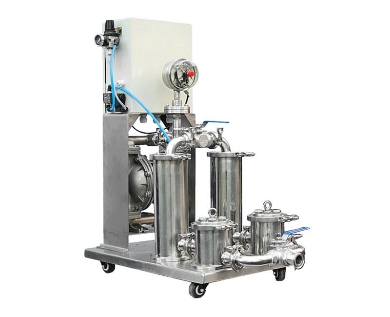 Système de filtration pour l'élimination du fer en suspension