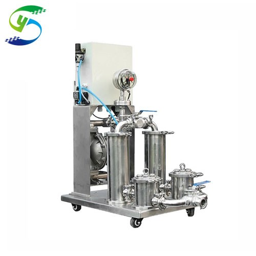 Lithium-ion Battery Paste Filtration System