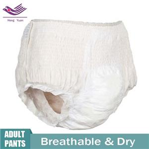 OEM High Quality Breathable Incontinence Pull Up Pants