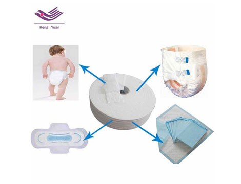 Raw Materials For Diapers And Pads