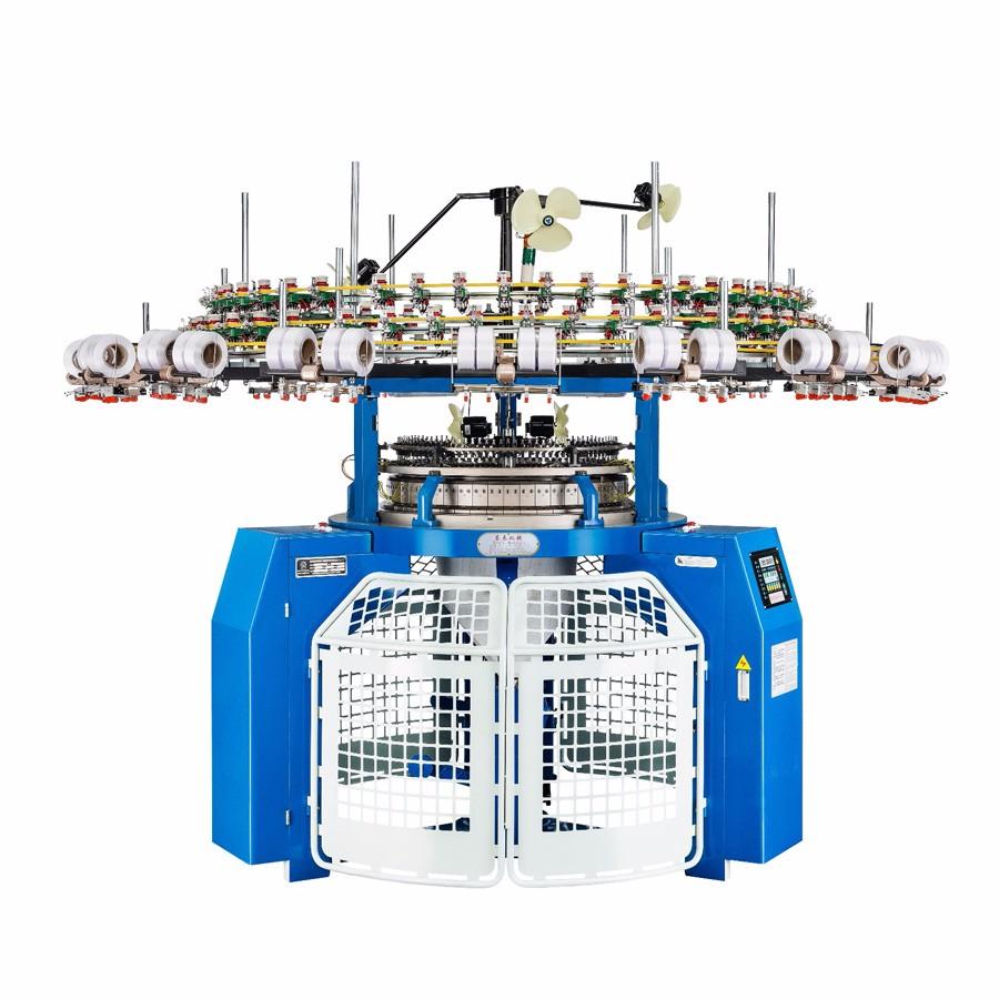 Single Jersey Tubular Circular Knitting Machine