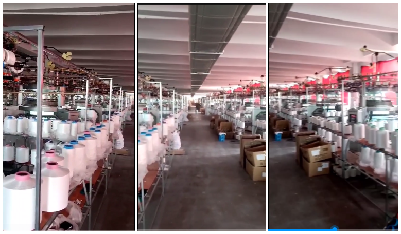 102 Sets DONGTAI Double M/Cs bought by A China Fabric Factory
