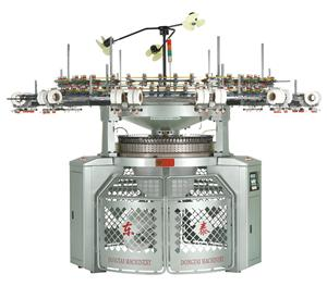 Interlock Knitting Machine