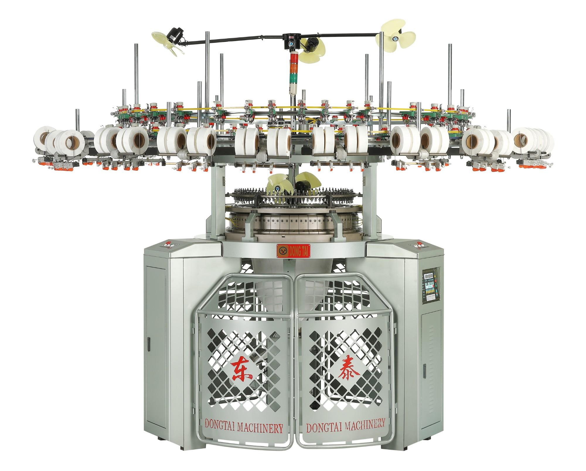 Yüksek Hızlı 3-İplikli Polar Yuvarlak Örgü Makinesi