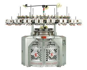 High Speed 3-Thread Fleece Circular Knitting Machine