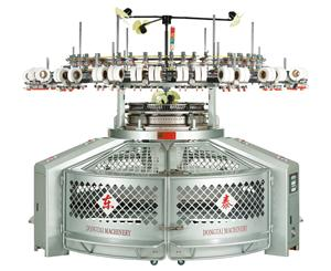 High Speed Single Open Width Circular Knitting Machine