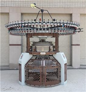 High Speed Double Computerized Jacquard Circular Knitting Machine