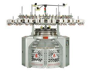 바디 사이즈 싱글 저지 원형 편직 기계