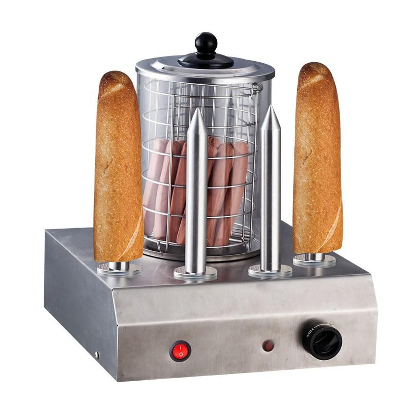 Hot Dog Maker Four Skewers Bock Sausage Warmer Hot Dogs Sausage Cooker