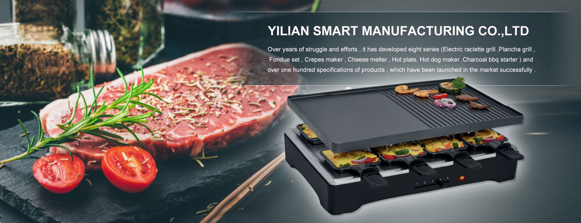 2 Persons Raclette Grill