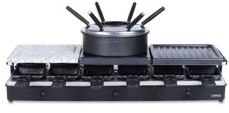 12 Persons Raclette Grill