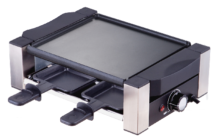4 Persons Raclette Grill